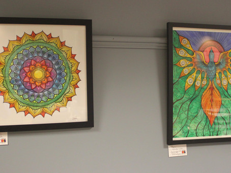 OAG - Artwork at Crouse Irving Ave.
