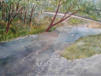 Cindy Parish -Bushkill Falls Stream.jpg