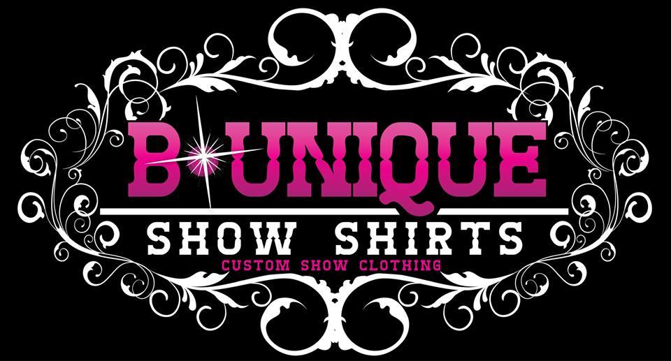 B unique show shirts custom western pleasure show clothing