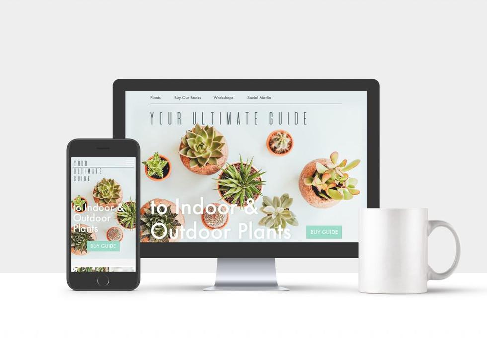 Website UI & UX design