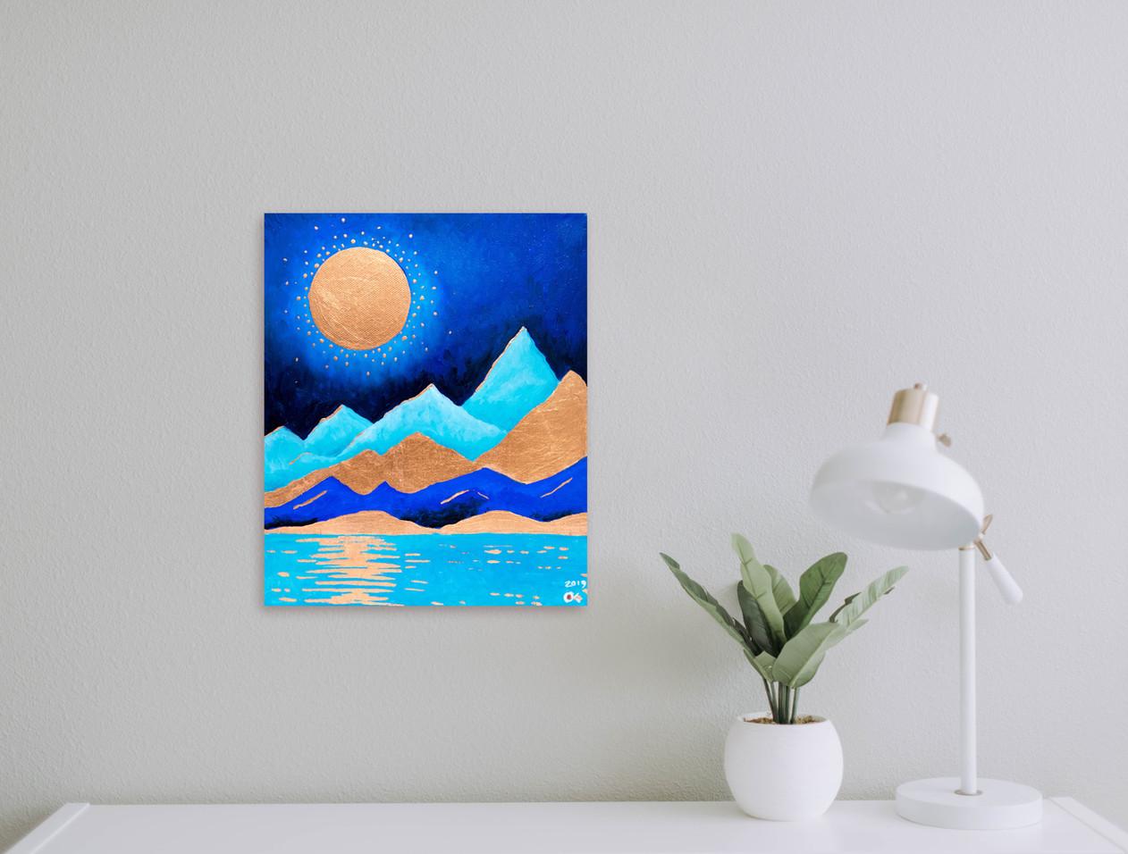 Life on Mars series of paintings