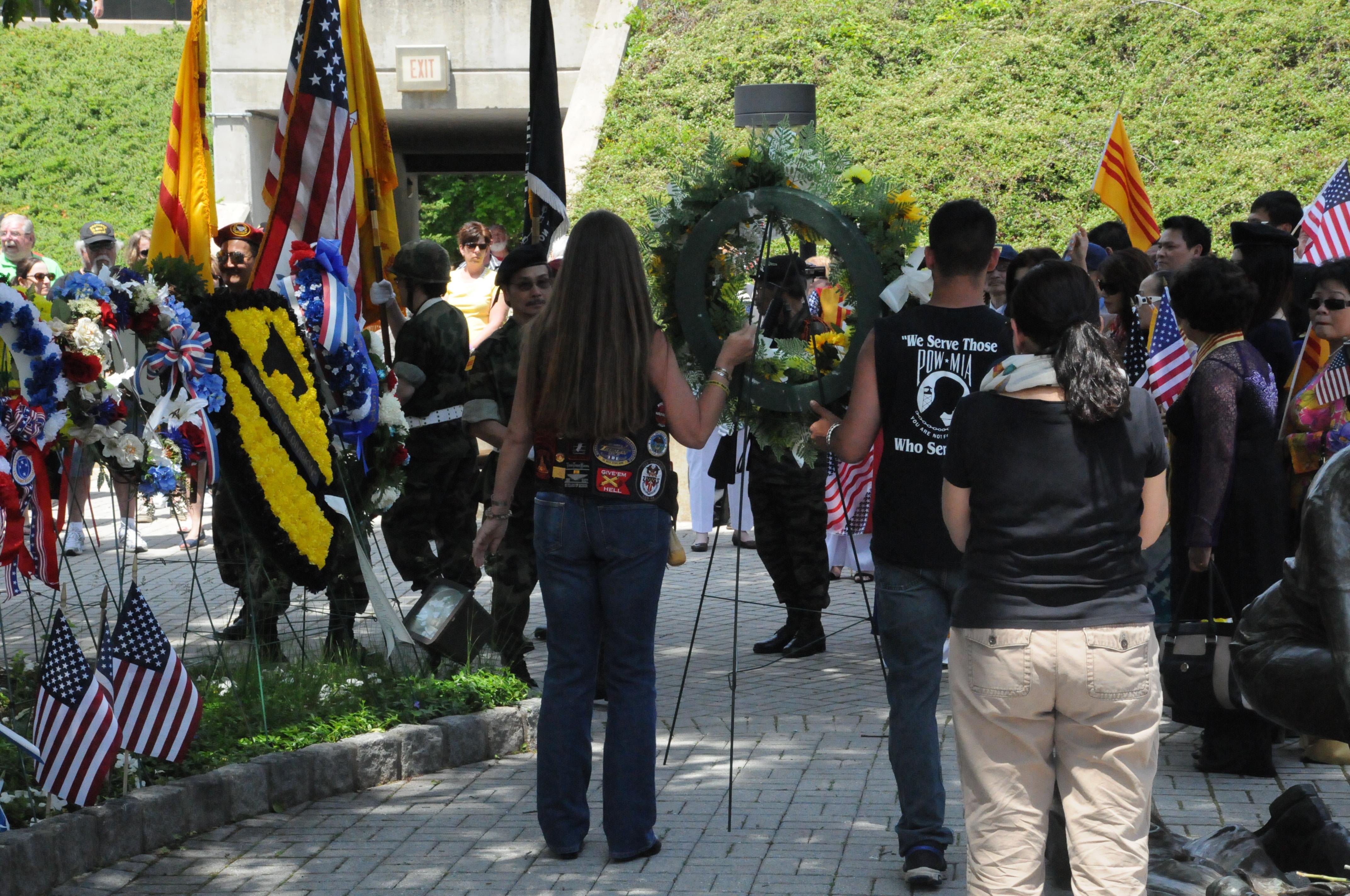 NJ Vietnam Memorial  5 2014