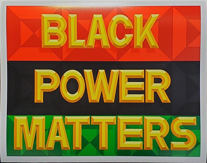 Black Power Matters Print