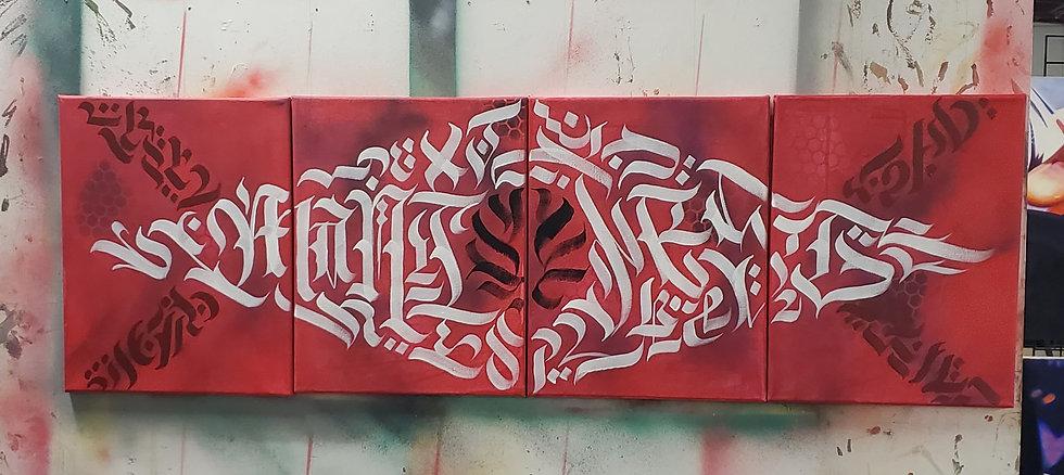 Manifest calligram