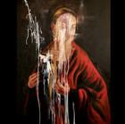 Never Kneel Oil on Linen 42x32in $1800