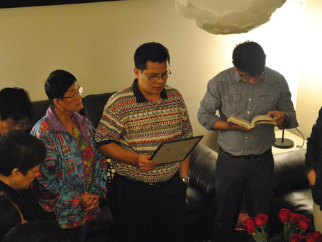 News: WINM House Blessing