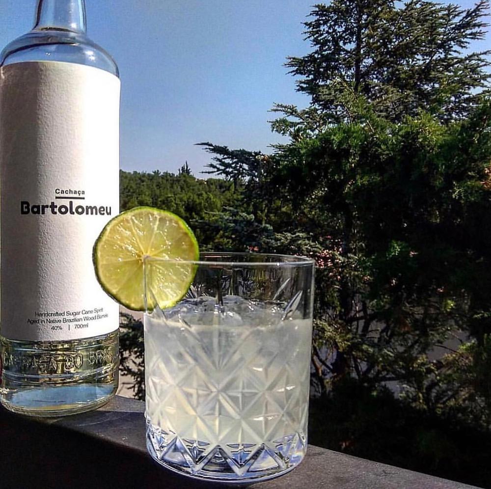 White Gentleman Cachaca cocktail