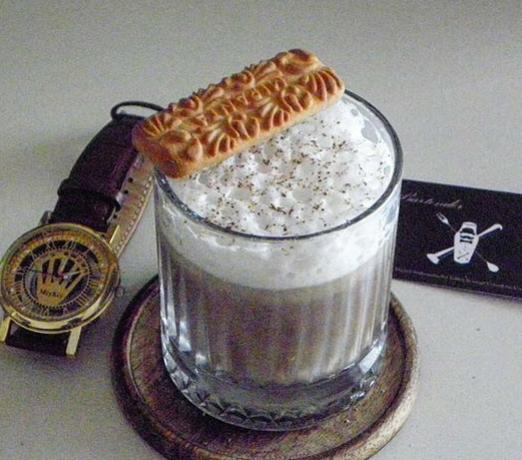 white brazilian cachaca coffee