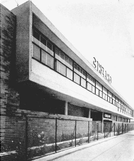 Cinzano Factory Sao Paulo 1950 Brazil