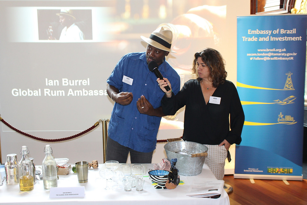Ian Burrel - Global Rum Ambassador