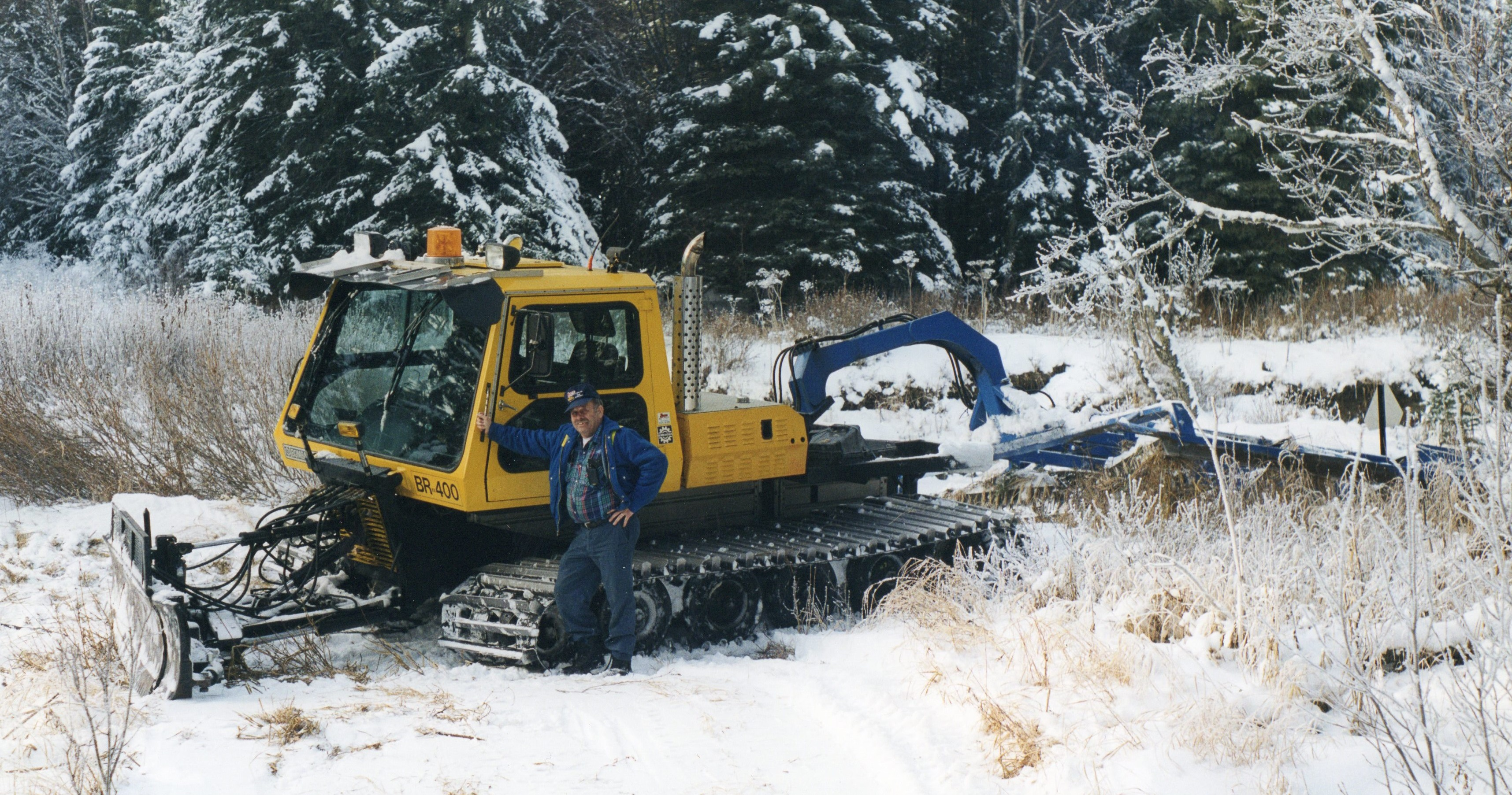 Snow Cat with Groomer_Bare Contracto