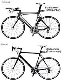 Women's Duathlon - Startnummer Bike