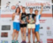 Women's Duathlon - Siegerehrung