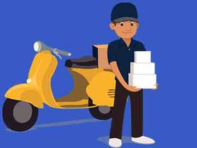 Restaurant ve kafeler için kare kodlarla paket sipariş