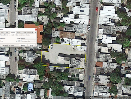 Google Earth vs Professional Surveyors