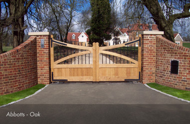 Wooden Gate Automation Installations