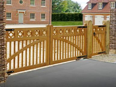 Hardwood Gate Installations