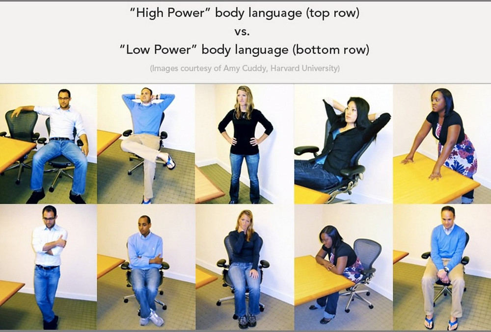 powerful body language