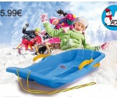 Snow-Play-Bob-Karol-80cm-blau-mit-Bremse