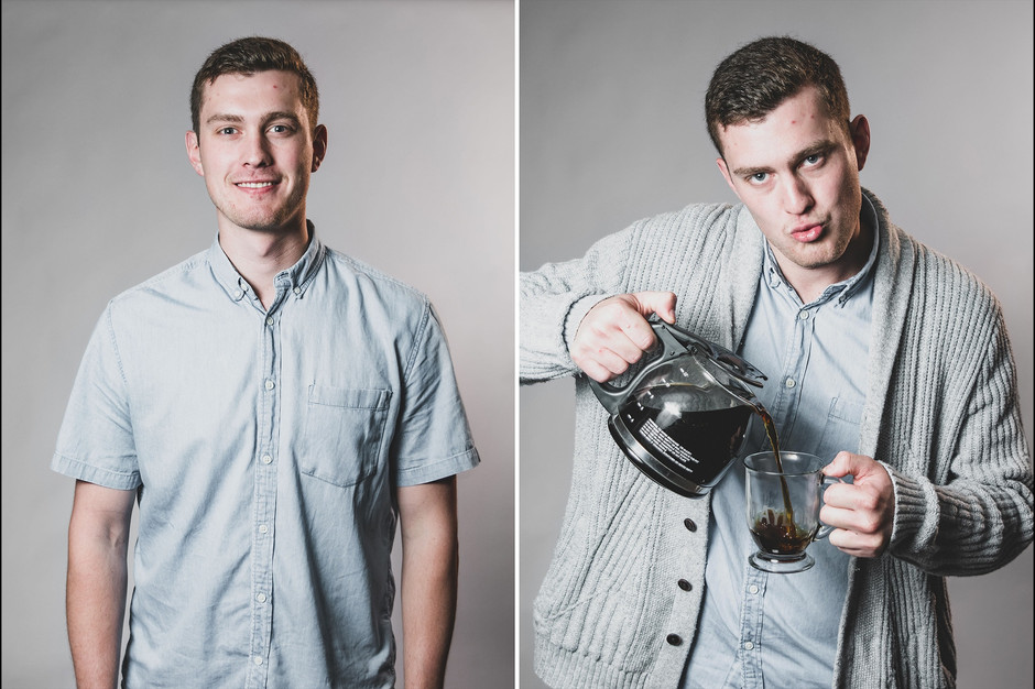 casual staff portrait photography