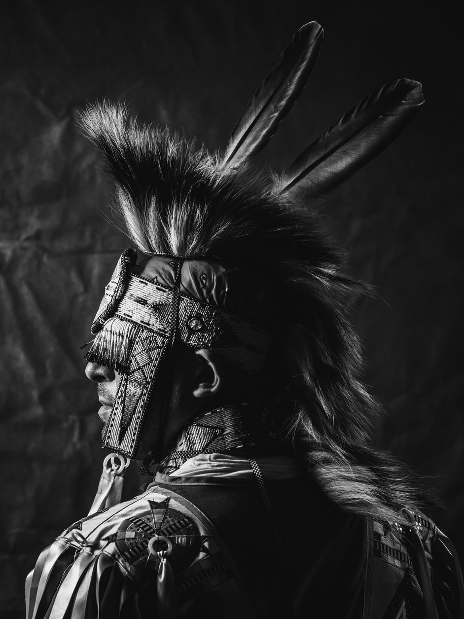 native american indian portrait photography