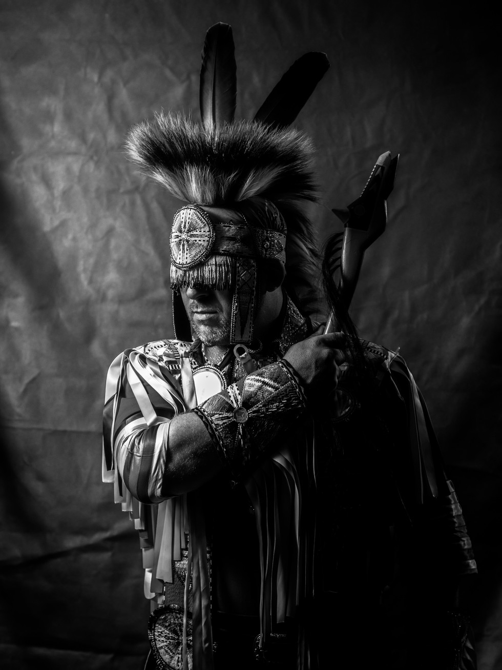 native american portrait photography
