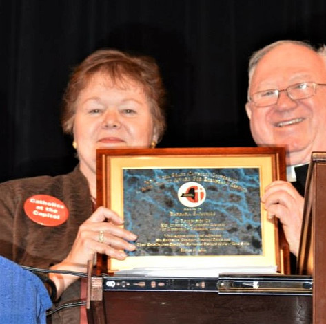 Award to CFFR Founder