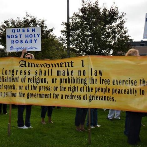 First Amendment Banner