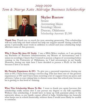 Skyler Bastow