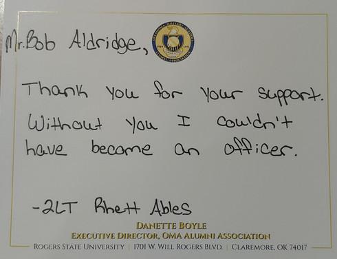 Thank you Rhett Ables