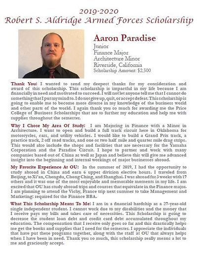 Aaron Paradise