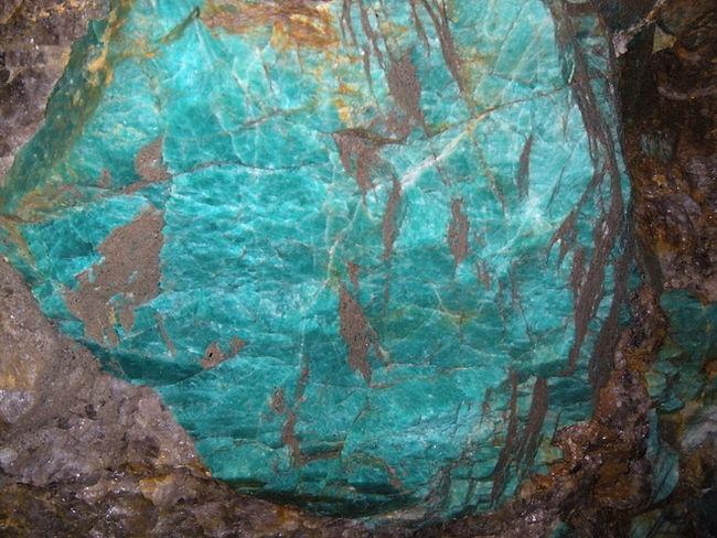 Amazonite, Morefield Mine