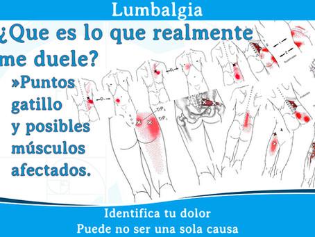 Lumbalgia ¿Qué duele realmente?