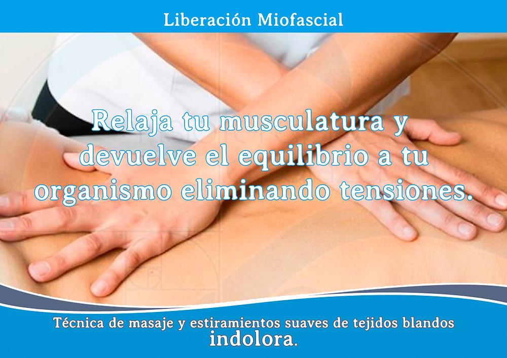 Liberación Miofascial en Murcia Fisioterapia Curae