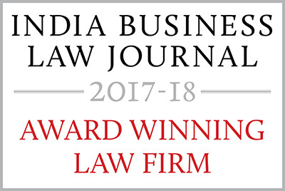 Indian Law Firm Awards 2017-8 - Award Wi