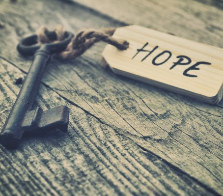HOPE DECLINES WITH EXPERIENCE AND IS REPLACED BY ACCEPTANCE
