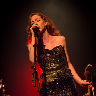Joyce O'Leary from Sephira performing LIVE in Amsterdam