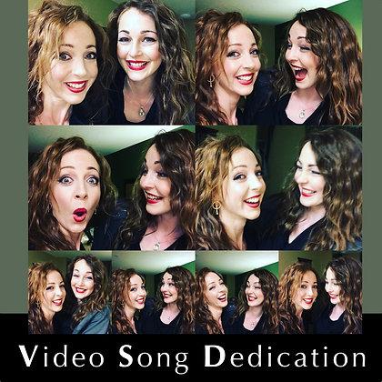 Video Song Dedication + Signed Sephira Believe album