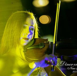 Joyce performing LIVE at Diner en Blanc, New York City