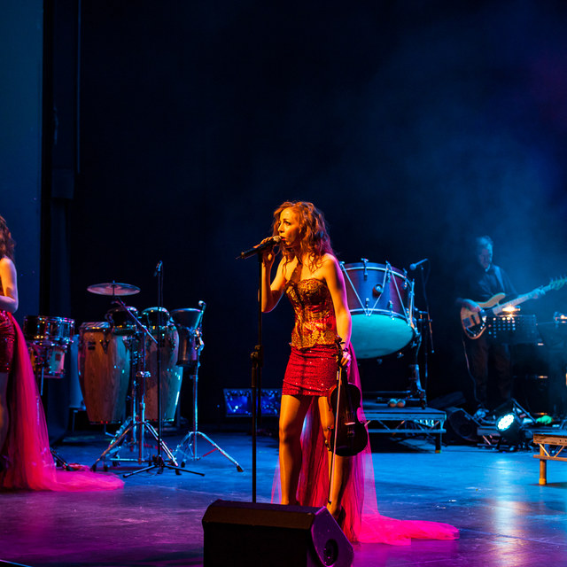 Sephira singing LIVE at the National Opera House, Ireland