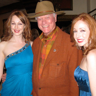 Sephira with Larry Hagman