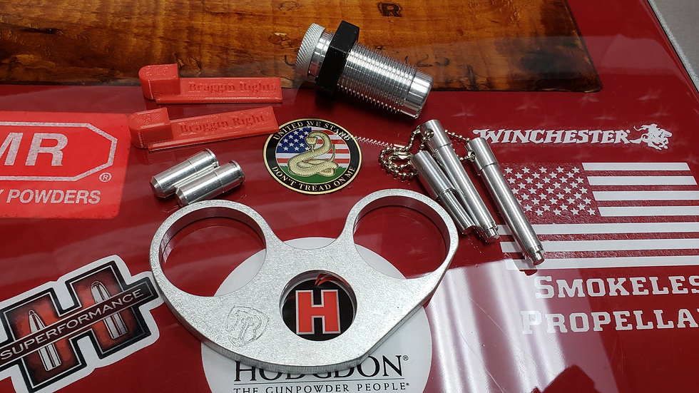 Grand Master Kit W/Aluminum Plate for For Hornady AP Press 9mm/223