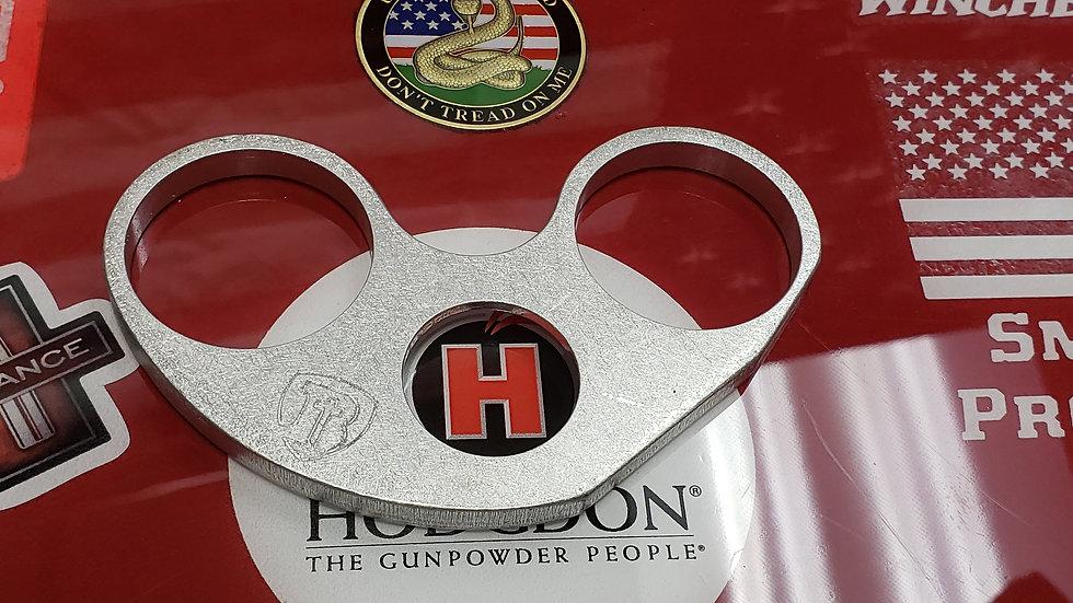 Aluminum Powder Drop Lock Plate for Hornady AP Press