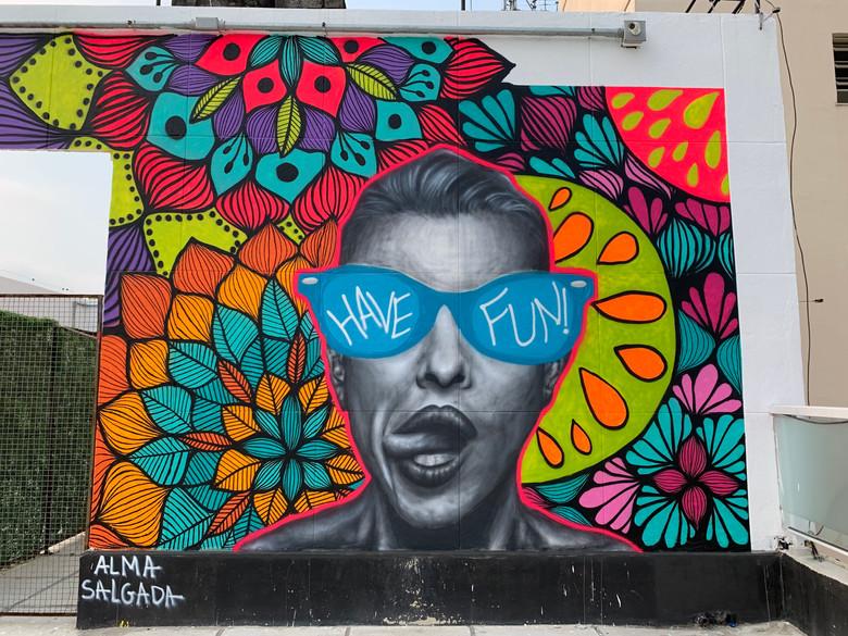 Mural Have Fun!