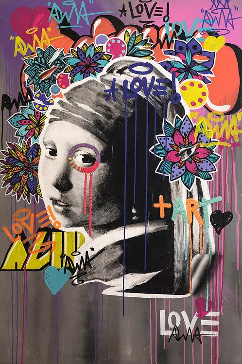 Print Urban Girl