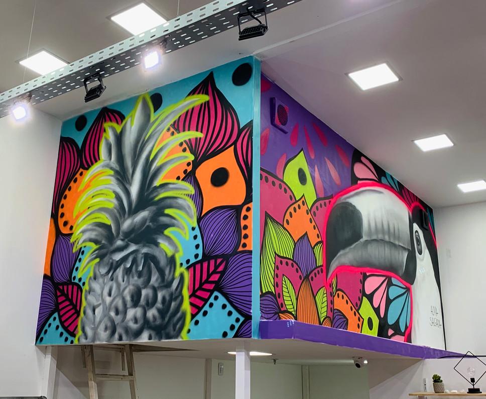 mural tropicália