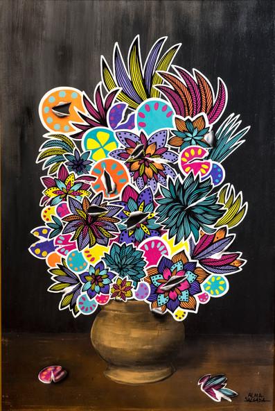 stickers bouquet