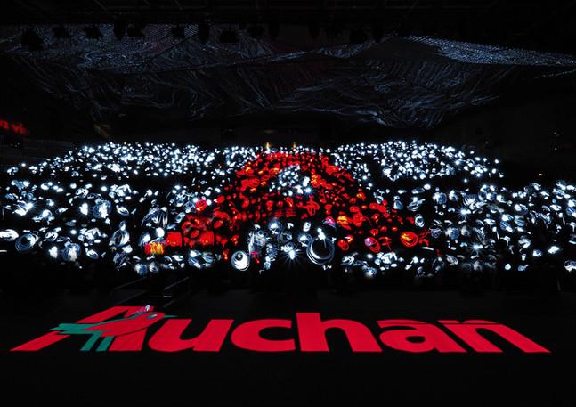 lightpainting géant record du monde