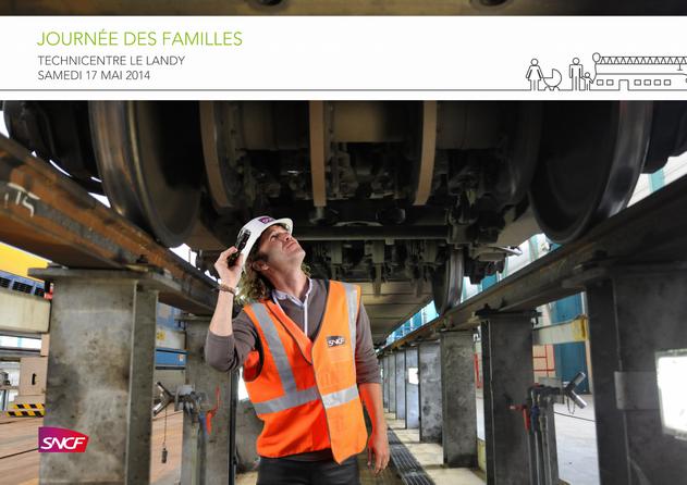 Fond vert - SNCF