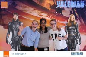 Photocall pour Valerian